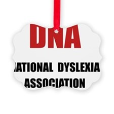 Dyslexia Association Ornament