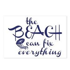 The Beach Can Fix Everyth Postcards (Package of 8)