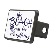 The Beach Can Fix Everythi Hitch Cover