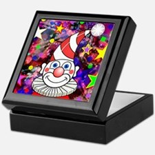 Candy Clown Keepsake Box