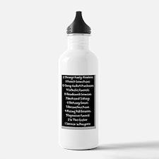 funeral proof 3 Water Bottle