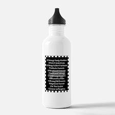 funeral proof 8 Water Bottle