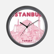 Istanbul_10x10_HagiaSophia_v2_Red Wall Clock