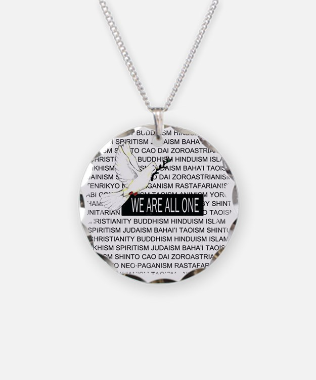 WE ARE ALL ONE Necklace
