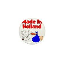 Made In Holland Boy Mini Button