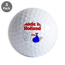 Made In Holland Boy Golf Ball