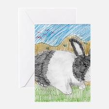 Dutch Bunny Greeting Card
