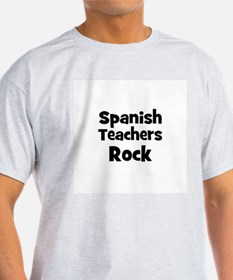 Spanish Teachers Rock T-Shirt