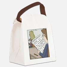 Anatomy Test Canvas Lunch Bag