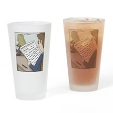 Anatomy Test Drinking Glass