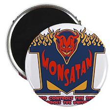 monsatan1-blu-T Magnet