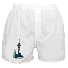 Auckland, New Zealand Boxer Shorts