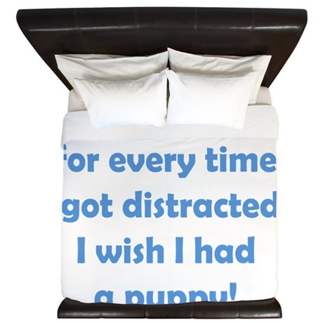 Distracted King Duvet