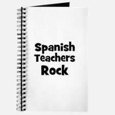 Spanish Teachers Rock Journal