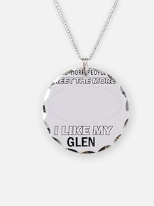 I Like My Glen Necklace