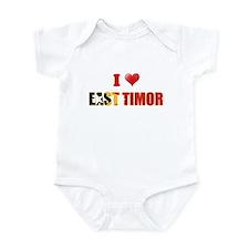 I love East Timor Infant Bodysuit