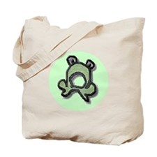 Green Pond Frog Tote Bag