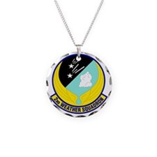 2nd Weather Squadron Necklace Circle Charm