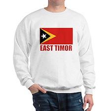 East Timor Flag Sweatshirt