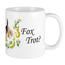 Fox Terrier Frolic Small Mug
