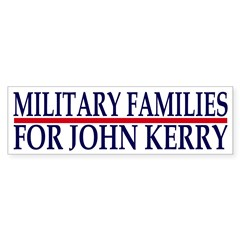 Military Families for John Kerry (sticker)