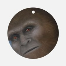 Sasquatch: The Unexpected Encounter Round Ornament