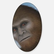 Sasquatch: The Unexpected Encounter Sticker (Oval)