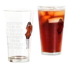 Naughty Boys! Drinking Glass