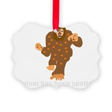 bigfoot spotted 2 Ornament