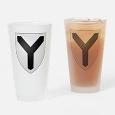 Y Yahweh Y Drinking Glass