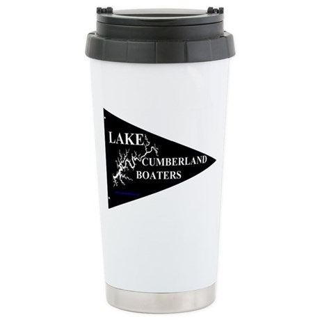 Lake Cumberland Boaters Stainless Steel Travel Mug