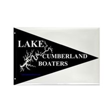Lake Cumberland Boaters Pennant Rectangle Magnet
