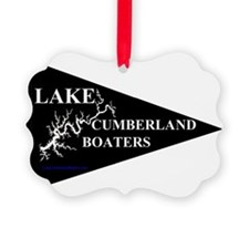 Lake Cumberland Boaters Pennant Ornament