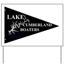 Lake Cumberland Boaters Pennant Yard Sign