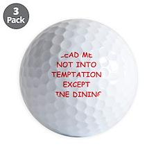 fine dining Golf Ball