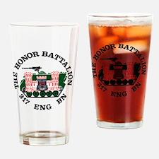 Honor Battalion Logo Drinking Glass