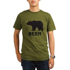 Beer. Bear with Deer  T-Shirt