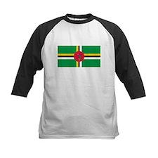 Dominica Flag T Shirts Tee