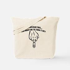 hear-bk Tote Bag
