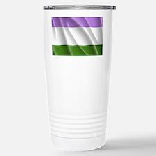Genderqueer Flag Travel Mug