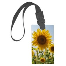 Sunflower Field Luggage Tag