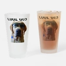 Cool Gus Drinking Glass