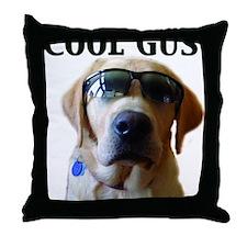 Cool Gus Throw Pillow
