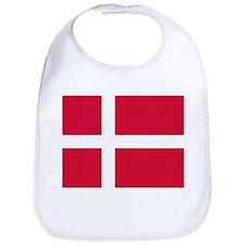 Denmark Flag T Shirts Bib