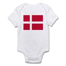 Denmark Flag T Shirts Infant Bodysuit