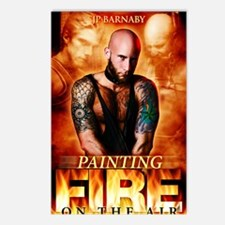 Painting Fire on the Air Postcards (Package of 8)