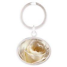 Beautiful Roses! Oval Keychain