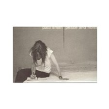 Patti Smith Poster Rectangle Magnet