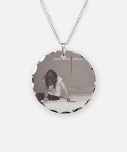 Patti Smith Poster Necklace