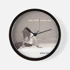 Patti Smith Poster Wall Clock